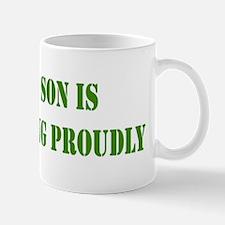 """Son In Military"" Mug"
