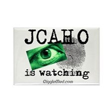 JCAHO Watching Rectangle Magnet