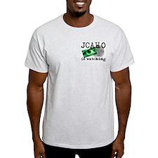 JCAHO Watching Ash Grey T-Shirt