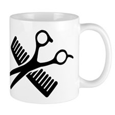 Comb & Scissors Mug