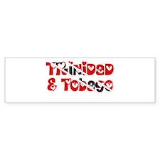 TNT Hearts Bumper Bumper Sticker