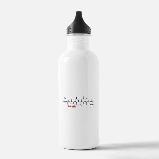 Calvin molecularshirts.com Water Bottle