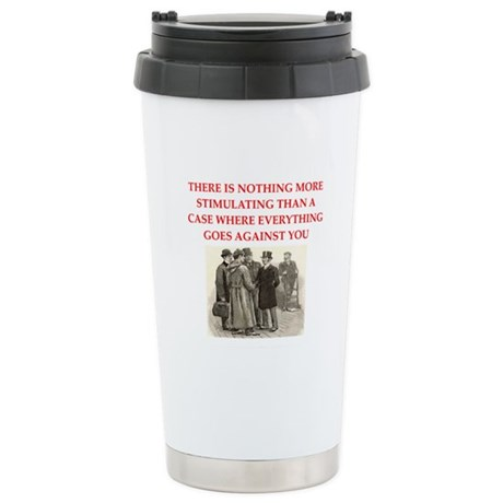 sherlock holmes Stainless Steel Travel Mug