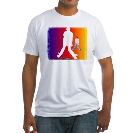 Jamskate Fitted T-Shirt