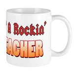 Property Of A Rockin Music Teacher Mug
