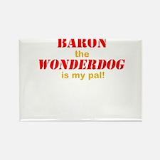 The Wonderdog Rectangle Magnet