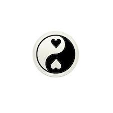 Yin Yang Mini Button (10 pack)