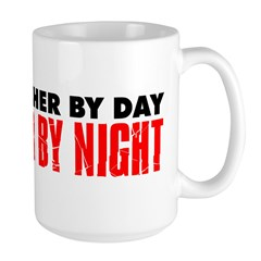 Music Teacher By Day Rockstar By Night Large Mug