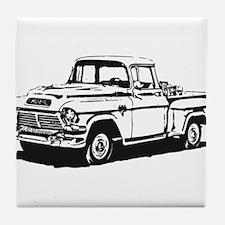 Old GMC pick up Tile Coaster