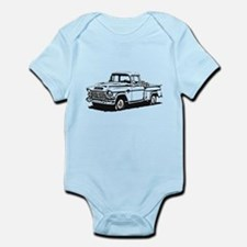 Old GMC pick up Infant Bodysuit