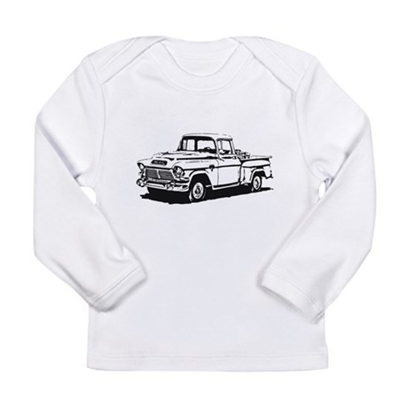 Old GMC pick up Long Sleeve Infant T-Shirt