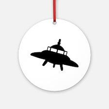 Ufo Ornament (Round)