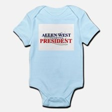 Cute Allen west Infant Bodysuit