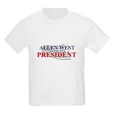 Cute Allen west for president T-Shirt