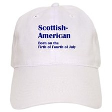 Scottish American Baseball Baseball Cap