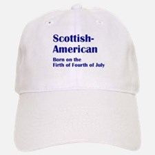 Scottish American Baseball Baseball Cap