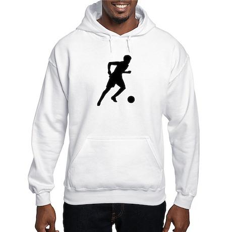 Soccer player Hooded Sweatshirt