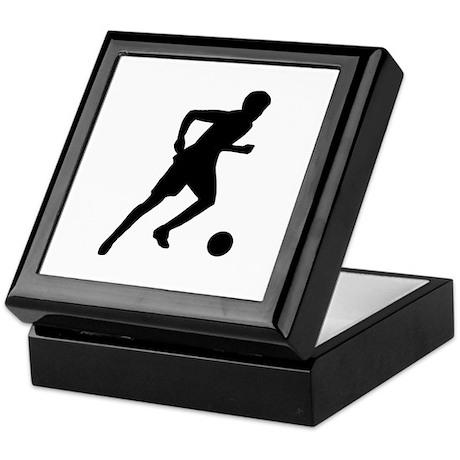 Soccer player Keepsake Box