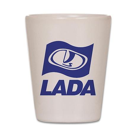 Lada Logo Shot Glass