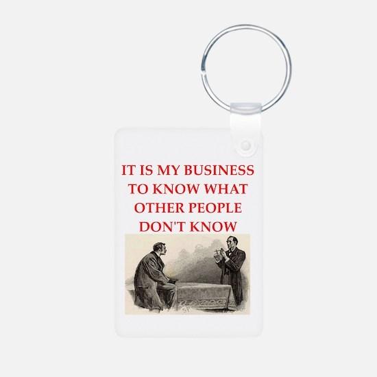 sherlock holmes Keychains