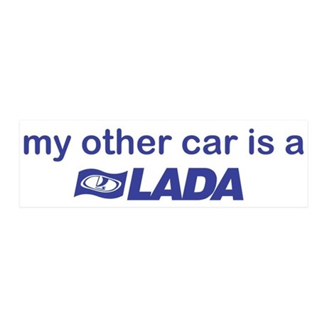 My other car is a Lada 21x7 Wall Peel