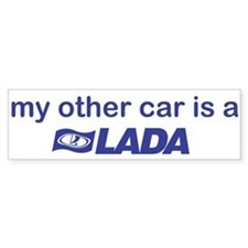 My other car is a Lada Bumper Sticker