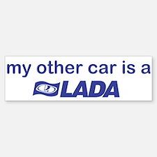 My other car is a Lada Bumper Bumper Sticker