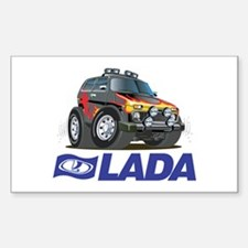 Cool Lada Niva with Lada Logo Decal