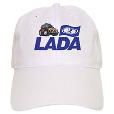 Lada Logo with Cool Niva Baseball Cap