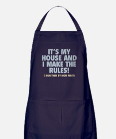 Dad's House Apron (dark)