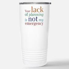 Planning Travel Mug
