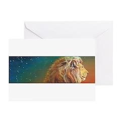 Quiet Lion Greeting Card