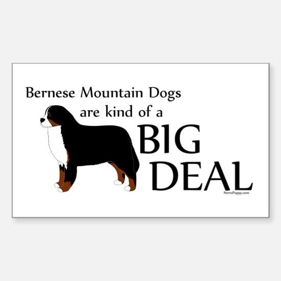 Big Deal - Berners Sticker (Rectangle)