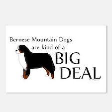 Big Deal - Berners Postcards (Package of 8)