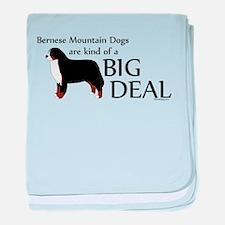Big Deal - Berners baby blanket