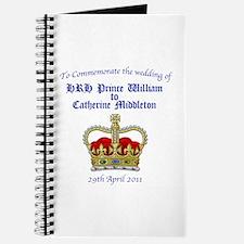 Royal Wedding Journal
