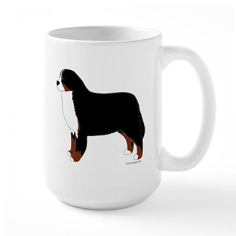 Bernese Mountain Dog Large Mug