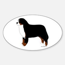 Bernese Mountain Dog Decal