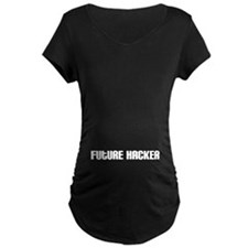 Future Hacker Maternity T-Shirt
