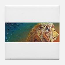 Quiet Lion Tile Coaster