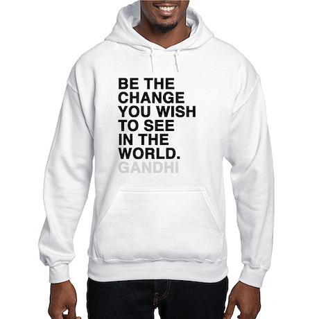 gandhi quotes Hooded Sweatshirt