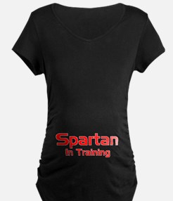 Spartan In Training Maternity T-Shirt