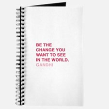gandhi quotes Journal