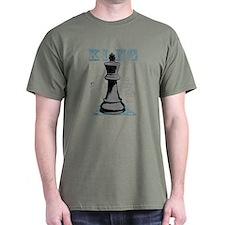 Black King Chess Mate T-Shirt
