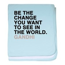 gandhi quotes baby blanket