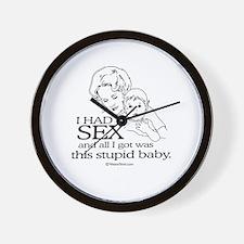 I had sex, and all i got ... Wall Clock
