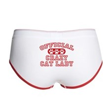 Crazy Cat Lady Women's Boy Brief