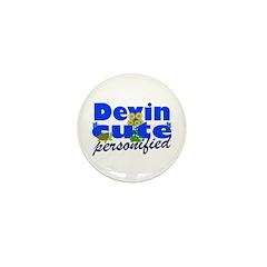 Cute Devin Mini Button (10 pack)