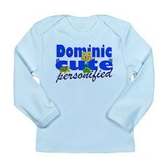 Cute Dominic Long Sleeve Infant T-Shirt