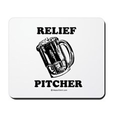Relief pitcher -  Mousepad